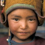 Ladakhischer Bub aus Zanskar